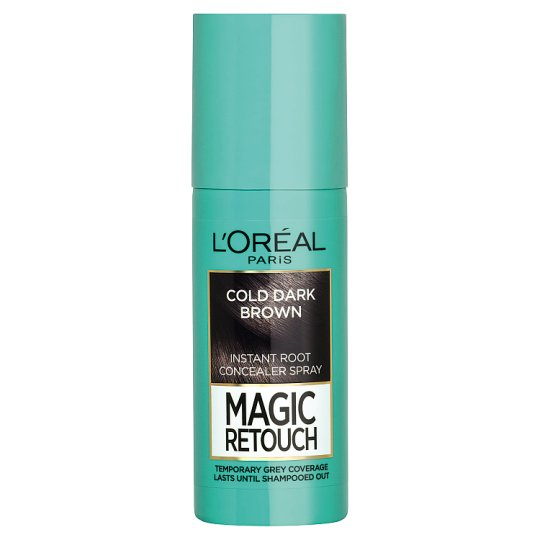 L'Oréal Paris Magic Retouch Feketés Barna azonnali hajtőszínező spray 75 ml