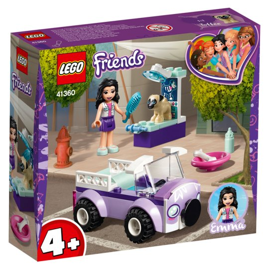 image 1 of LEGO Friends Emma's Mobile Vet Clinic 41360