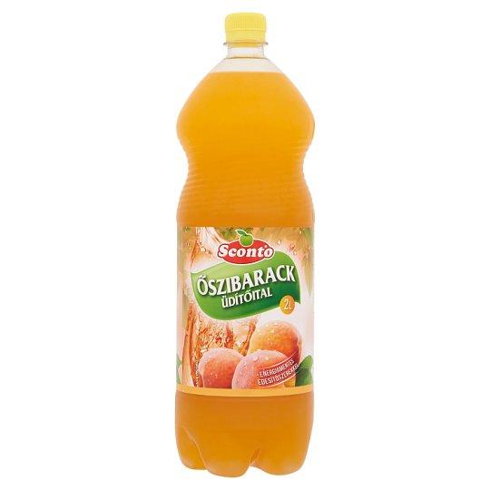 Sconto energiamentes őszibarack üdítőital édesítőszerekkel 2 l