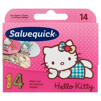Salvequick Hello Kitty ragtapasz 14 db