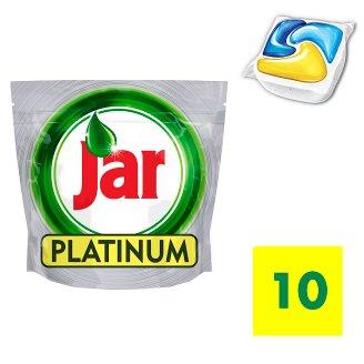 Jar Platinum Dishwasher Tablets Lemon 10 per Pack