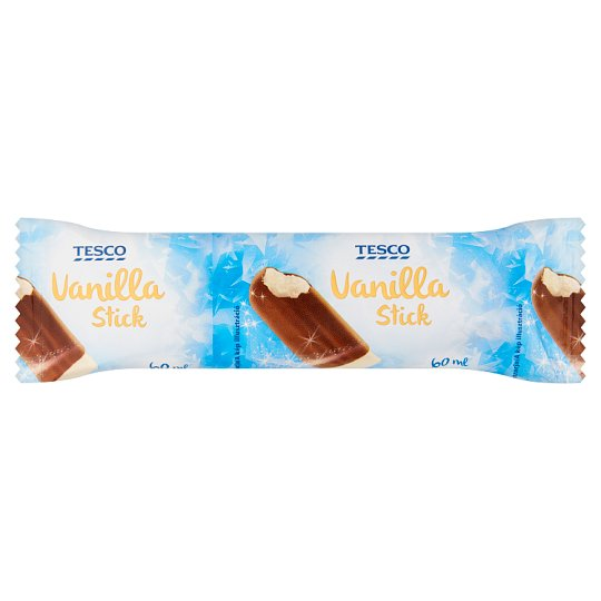 Tesco vaníliás jégkrém kakaós bevonattal 60 ml