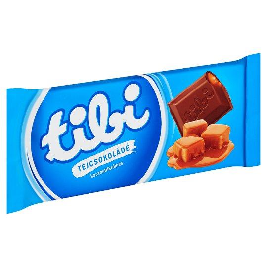Tibi Milk Chocolate with Caramel Cream 90 g