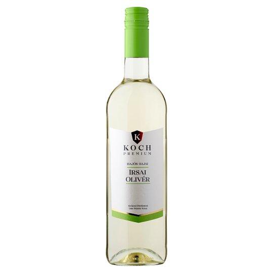 Koch Premium Hajós-Bajai Irsai Olivér száraz fehérbor 0,75 l
