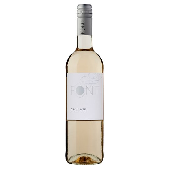 Font Duna-Tisza közi Tied Cuvée száraz fehérbor 11,5% 750 ml