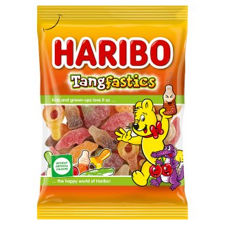 Haribo Tangfastics Fruit and Cola Flavoured Sour Gum 100 g