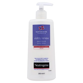 Neutrogena Norwegian Formula Visibly Renew Body Lotion with Minerals for Dry Skin 250 g