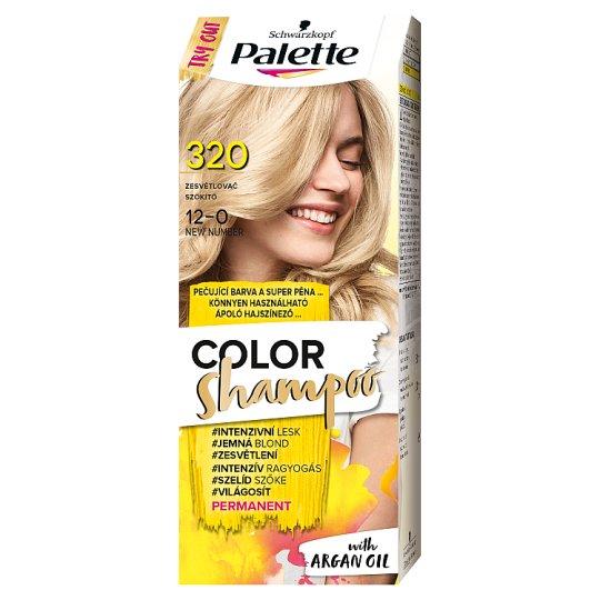 Schwarzkopf Palette Color Shampoo hajszínező 12-0 szőkítő (320)