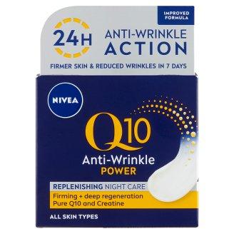 NIVEA Q10 Power ránctalanító + feszesítő éjszakai arckrém 50 ml
