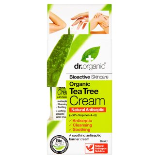 Dr. Organic Bioactive Skincare Protective Cream with Organic Tea Tree Oil 50 ml