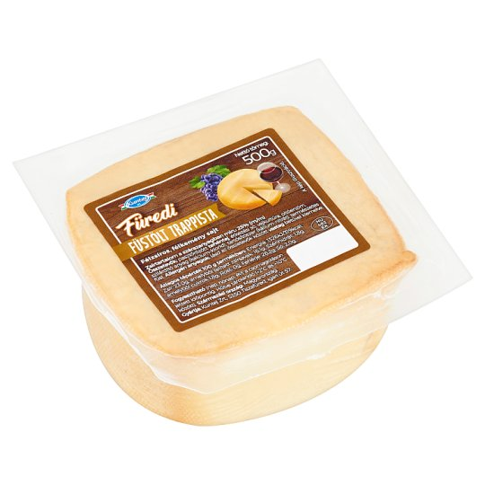 Kuntej Füredi Semi-Fat, Semi-Hard, Smoked Trappist Cheese 500 g