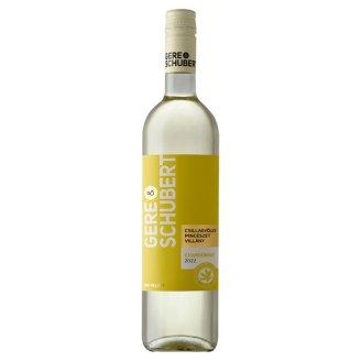 Gere - Schubert Chardonnay száraz fehérbor 12% 0,75 l