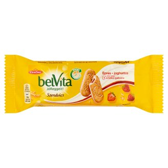 belVita JóReggelt! epres-joghurtos szendvics 50,6 g
