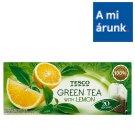 Tesco citrom ízű filteres zöldtea 20 filter 34 g