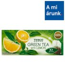 Tesco Filtered Green Tea with Lemon 20 Tea Bags 34 g