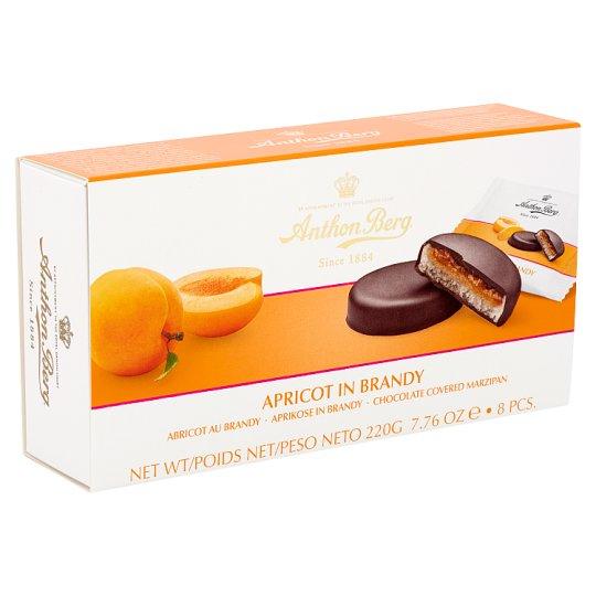 Anthon Berg csokoládé marcipánnal és konyakban lévő sárgabarackkal töltve 8 db 220 g