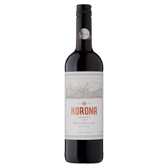 Egri Korona Borház Egri Bikavér Dry Red Wine 13% 750 ml