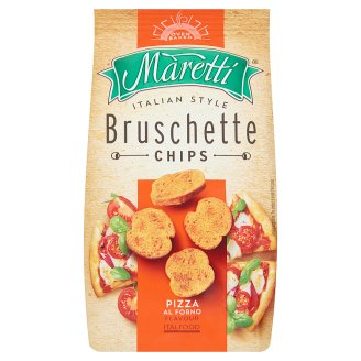 Maretti Bruschette Baked Bread Circles with Pizza Flavour 70 g