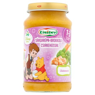 Univer Carrot-Broccoli with Chicken for Babies 12 Months+ 220 g