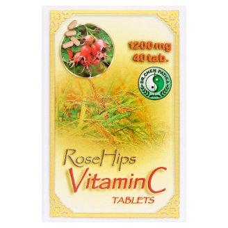 Dr. Chen Patika natúr C-vitamin étrend-kiegészítő tabletta csipkebogyóval 40 db 48 g