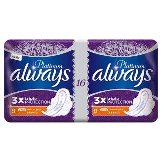 Always Platinum Normal Plus Sanitary Towels 16 X
