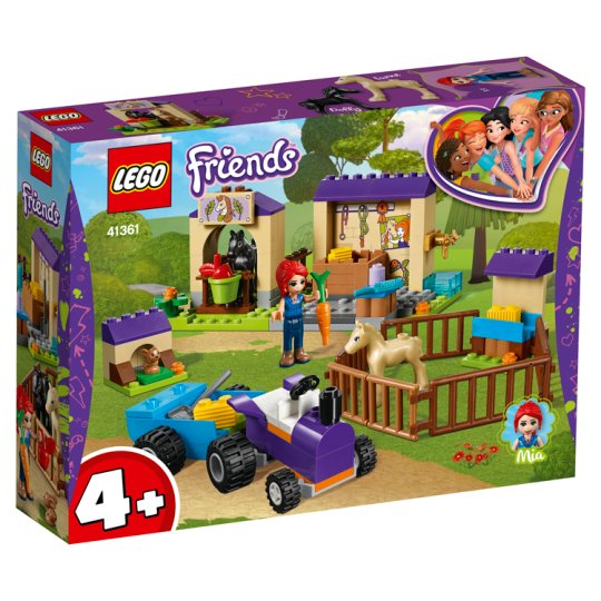 image 1 of LEGO Friends Mia's Foal Stable 41361