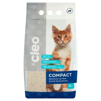 Cleo Compact csomósodó macskaalom ásványi bentonittal 5 l