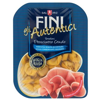 Fini gli Autentici Tortelloni Ham Filled Pasta with Eggs 250 g