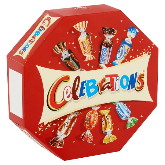 Celebrations Mix of Milk Chocolate with Fillings, Biscuit and Wafer 186 g