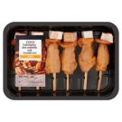 Tesco BBQ csípős-magyaros belső csirkemellfilé saslik 300 g