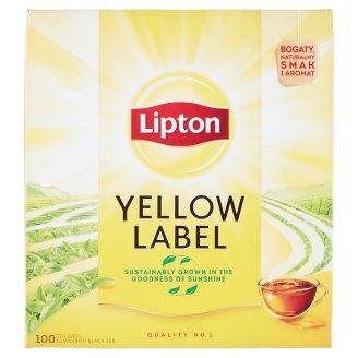 Lipton Yellow Label Flavoured Black Tea 100 Tea Bags
