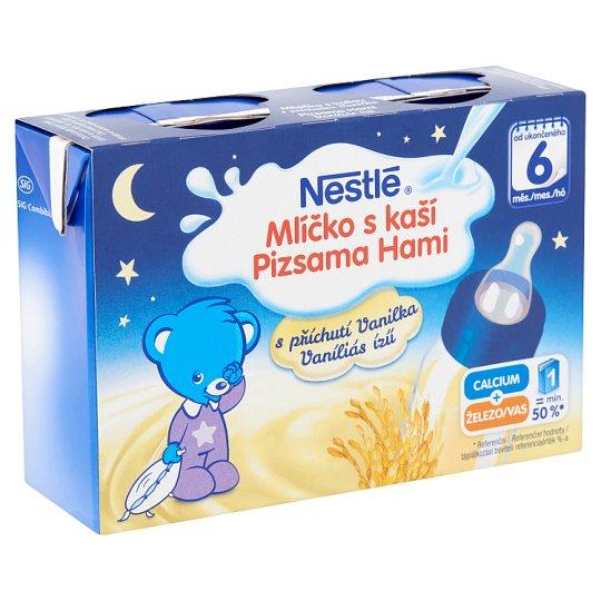Nestlé Pizsama Hami vaníliás ízű gluténmentes folyékony gabonás bébiétel 6 hónapos kortól 400 ml