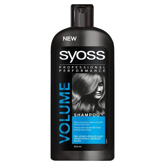 Syoss Volume Shampoo for Thin, Flattened Hair 500 ml