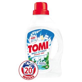Tomi Amazónia Frissessége folyékony gél mosószer fehér ruhákhoz 20 mosás 1,32 l