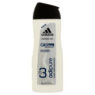 Adidas Adipure tusfürdő 3 az 1-ben testre, hajra, arcra 400 ml