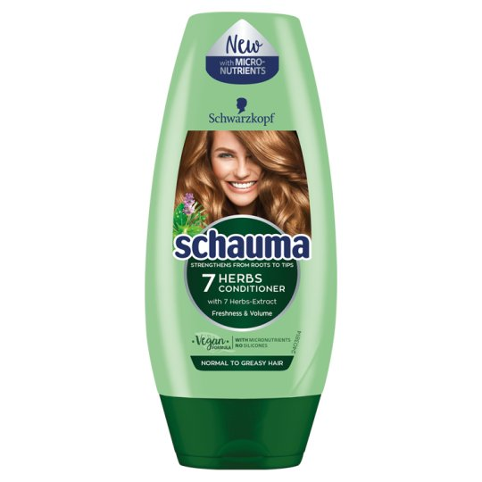 Schauma 7 Herbs Conditioner for Normal to Greasy Hair 200 ml