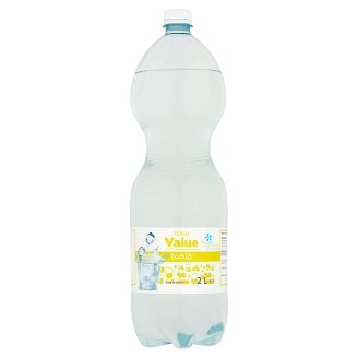 Tesco Value Tonic Flavoured Carbonated Drink with Sweeteners 2 l