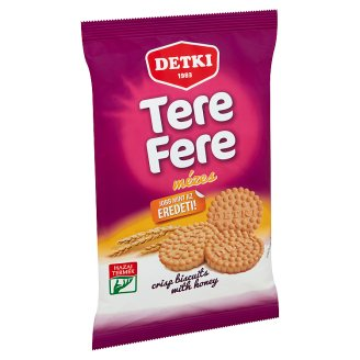 Detki Tere-fere Crisp Biscuits with Honey 180 g
