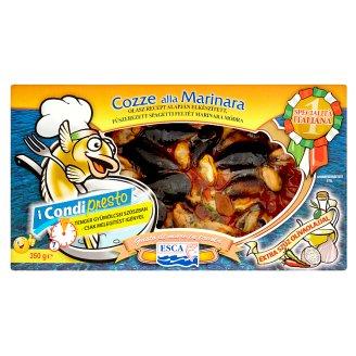 Esca Cozze alla Marinara fűszerezett spagetti feltét marinara módra 350 g