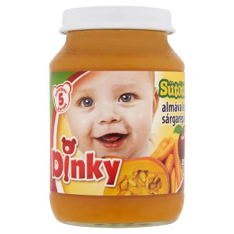 Dinky Gluten- and Dairy-Free Pumpkin with Apple & Carrot Baby Food 5+ Months 190 g
