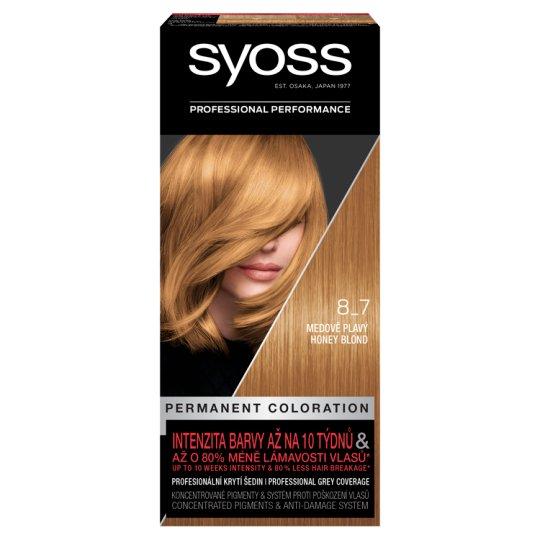 Syoss 8-7 Honey Blond Permanent Hair Colorant