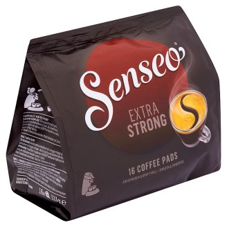 Senseo Extra Strong Ground Roasted Coffee in One-Portion Pads 16 pcs 111 g