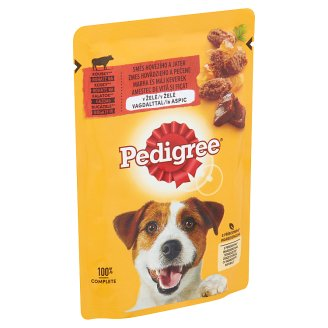 Pedigree Vital Protection teljes értékű állateledel felnőtt kutyák számára marhával aszpikban 100 g
