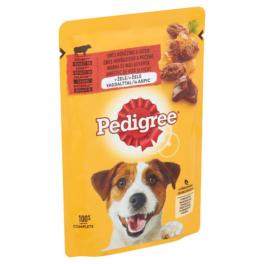 Pedigree Vital Protection Complete Pet Food for Adult Dogs with Beef in Aspic 100 g