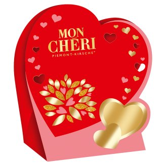 Mon Chéri Chocolate Pralines with Whole Cherry in Liqueur 42 g