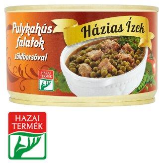 Házias Ízek pulykahús falatok zöldborsóval 400 g