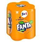 Fanta Narancs szénsavas üdítőital 4 x 330 ml