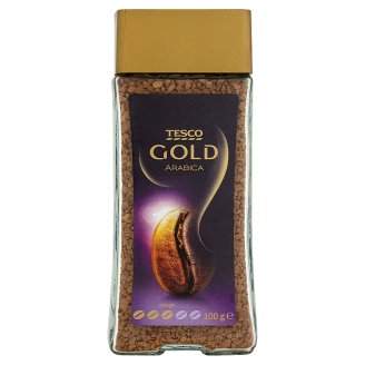 Tesco Gold Arabica Instant Coffee 100 g