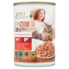 Tesco Pet Specialist Complete Cat Food in Sauce with Beef and Liver 415 g