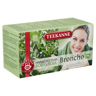 Teekanne Harmony for Body & Soul Broncho Tea herbatea 20 filter 40 g